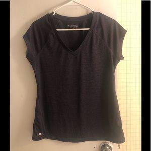NWOT Dark purple running shirt